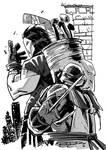 Raphael and Casey Jones by Khary Randolph