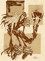 Judge Death of Judge Dredd by Mitten by AshcanAllstars