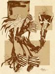 Judge Death of Judge Dredd by Mitten