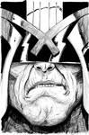 Judge Dredd by Tyler Crook