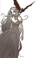 Daenerys Targaryen of Game of Thrones by Moritat by AshcanAllstars
