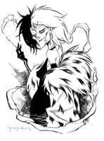 Cruella de Vil by Khary Randolph by AshcanAllstars