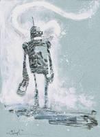Bender of Futurama by Christopher Mitten by AshcanAllstars