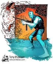Abe Sapien by Tony Shasteen