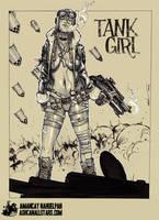 Tank Girl by Amancay Nahuelpan by AshcanAllstars