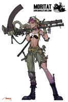 Tank Girl by Moritat by AshcanAllstars
