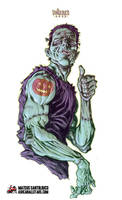 The Frankenstein Monster by Mateus Santolouco
