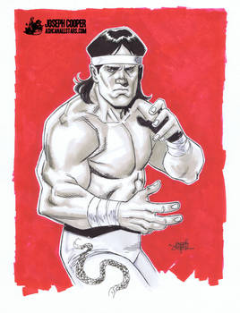 Ricky the Dragon Steamboat by Joseph Cooper