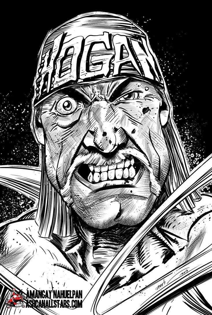 Hulk Hogan By Amancay Nahuelpan AshcanAllstars