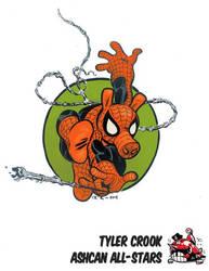 SpiderHam by Tyler Crook by AshcanAllstars