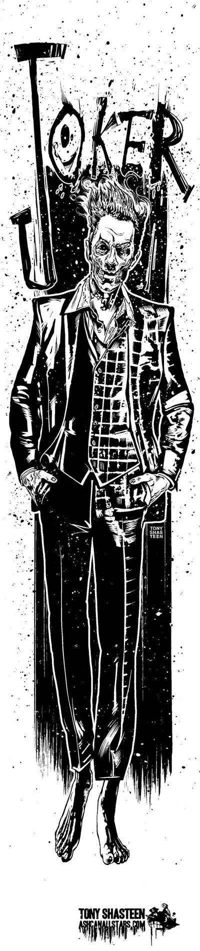 The Joker by Tony Shasteen by AshcanAllstars