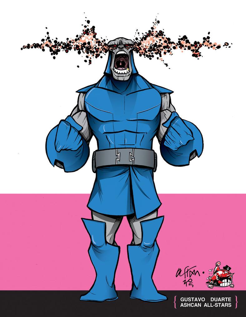Darkseid by Gustavo Duarte by AshcanAllstars