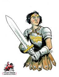 Wonder Woman by Tyler Crook by AshcanAllstars
