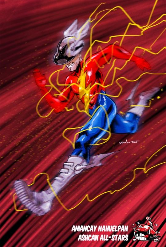 Flash by Amancay Nahuelpan by AshcanAllstars