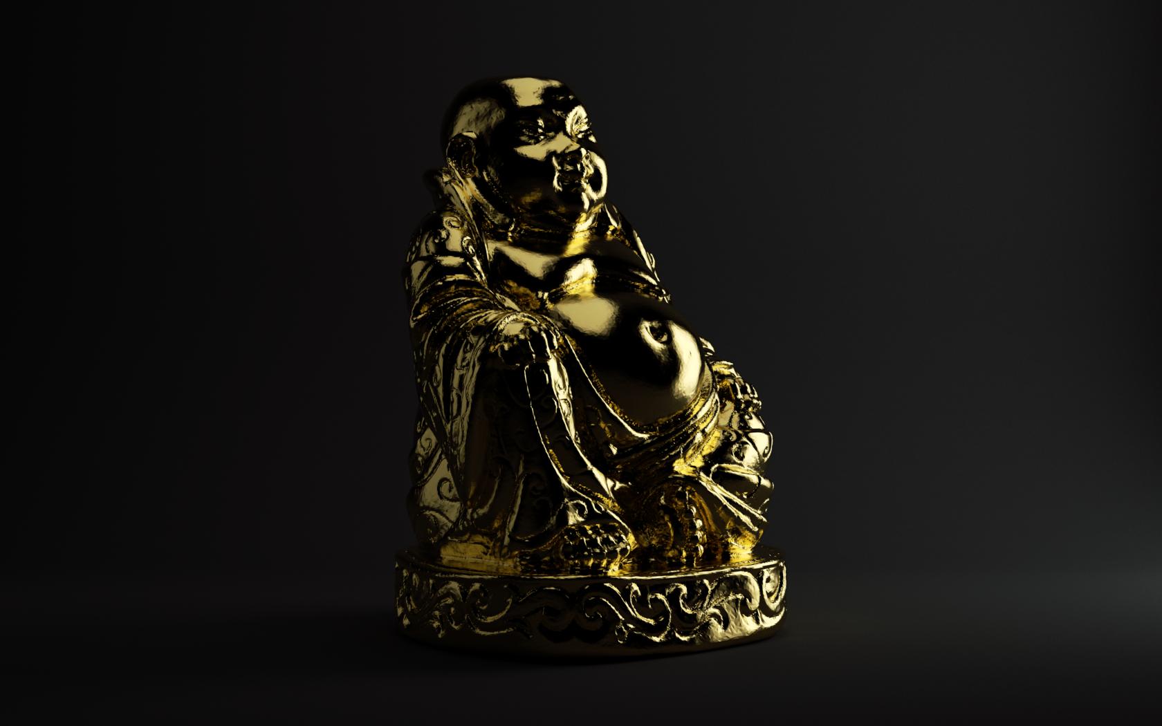 Buddha by feckt