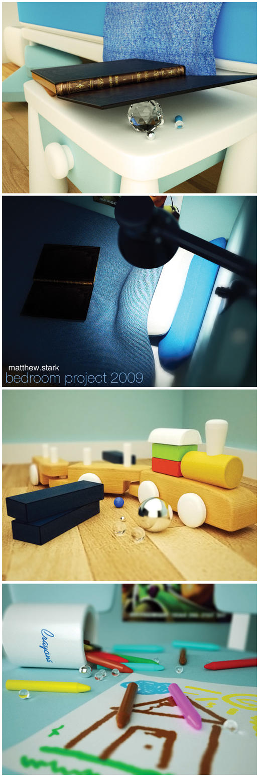 Bedroom Project 2009 by feckt