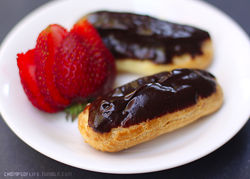Delicious French Eclairs by chompsoflife