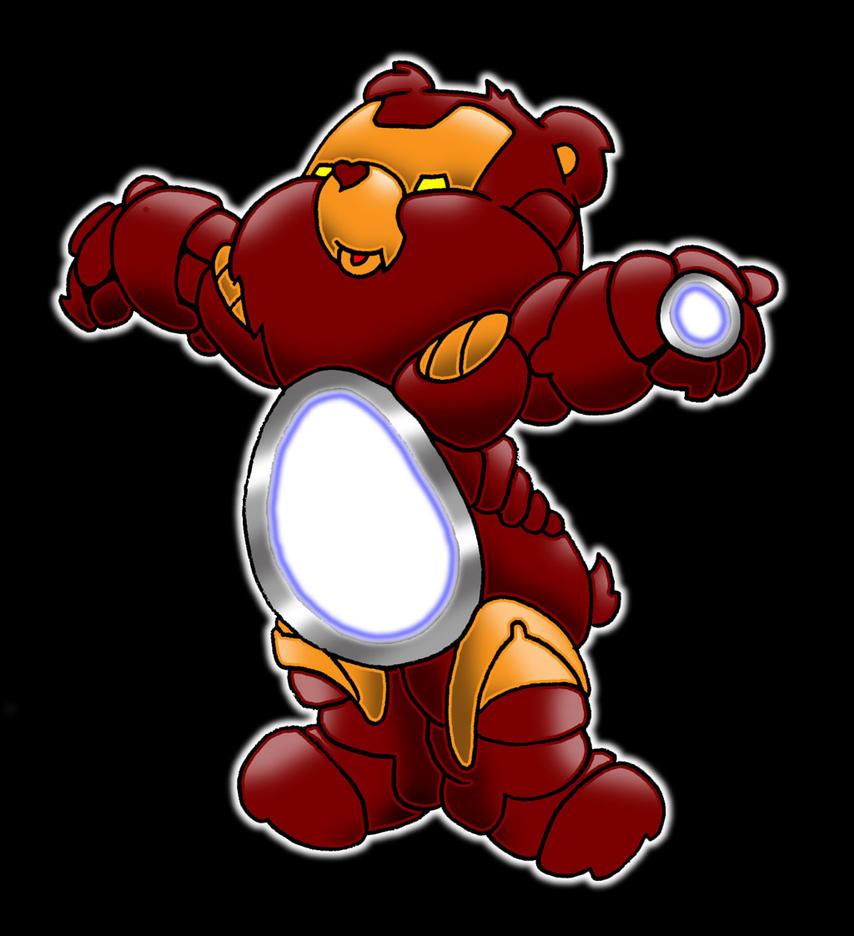 iron man care bear by yayzus
