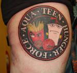 aqua teen hunger force tattoo