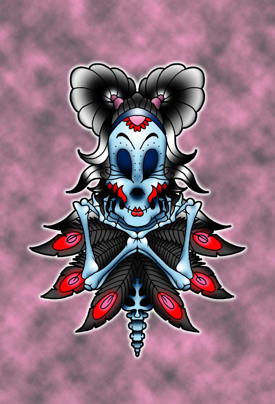 dark sugar skull 1 by 4unt3r