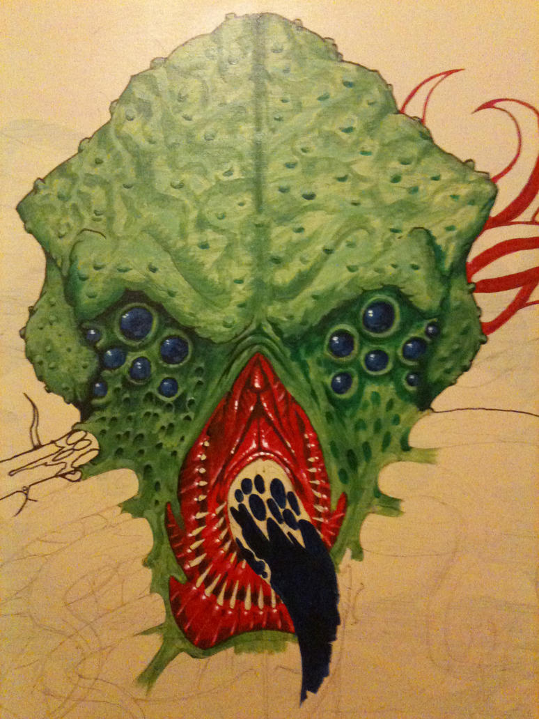 Dirty Cthuluh - wrk n progress by yayzus
