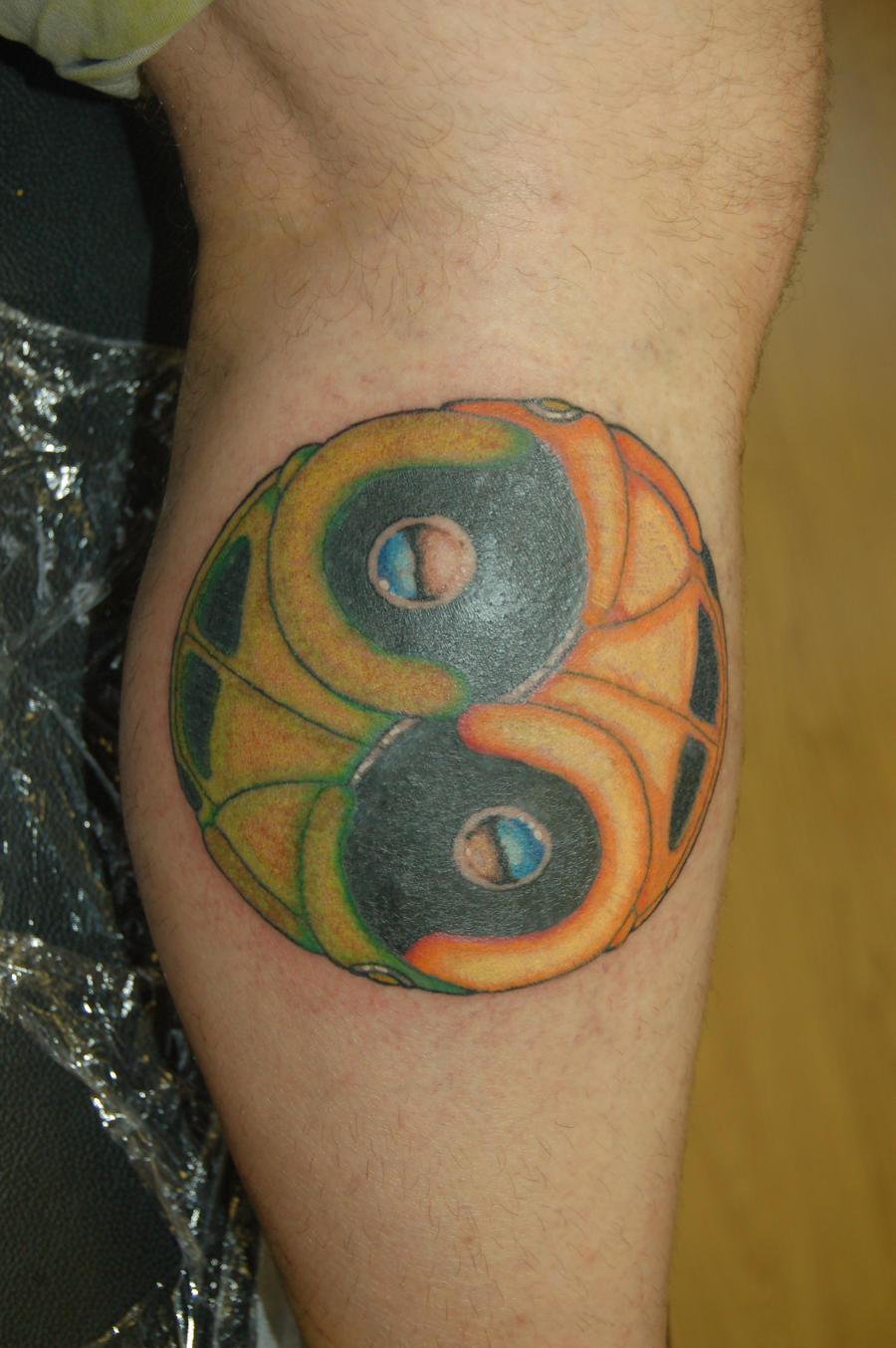 vw yin yang tattoo by yayzus