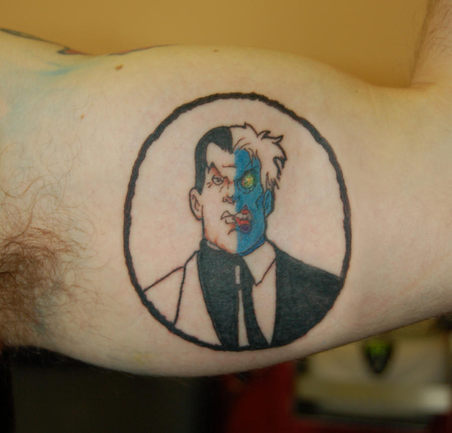 Two face tattoo by yayzus on deviantart for Two faced tattoo