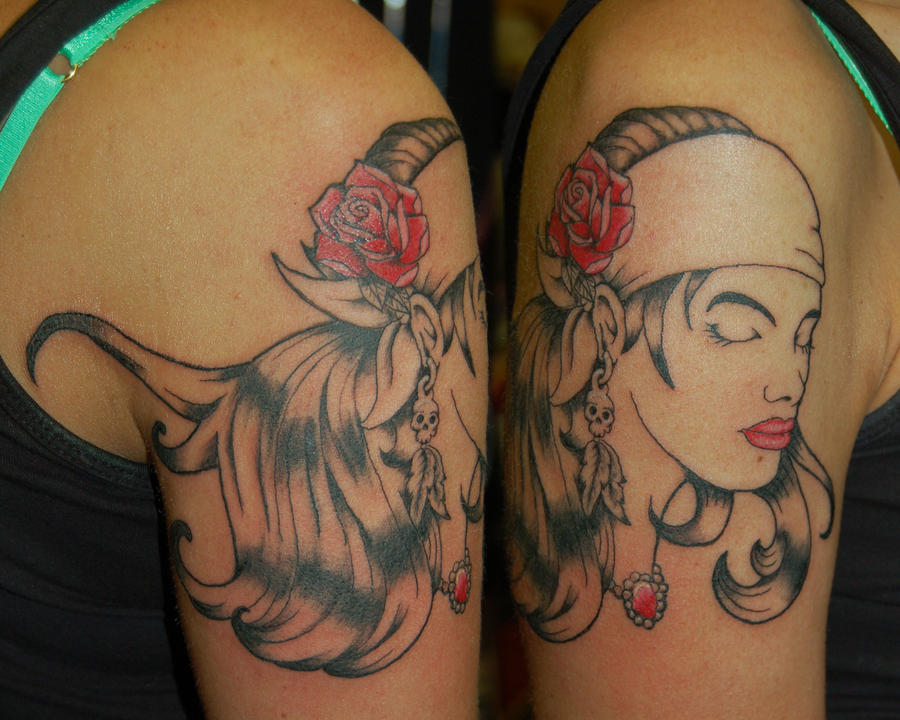gypsy tattoo by yayzus