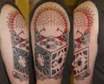 Hellraiser polynesian tattoo
