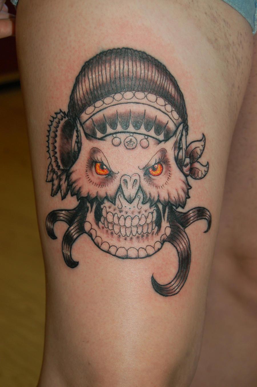 Owl sugar skull gypsy by yayzus on deviantart for Owl and sugar skull tattoo