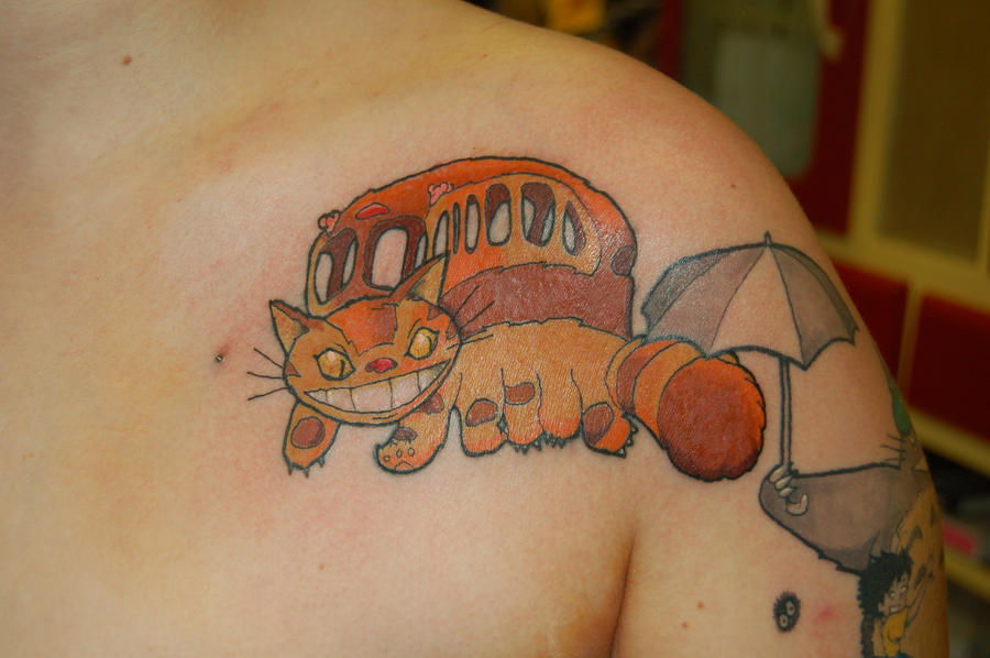 Catbus Tattoo by yayzus