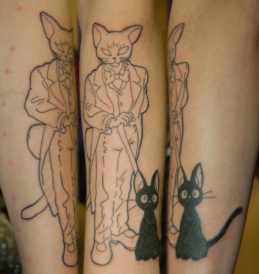 The ghibli baron tattoo by yayzus
