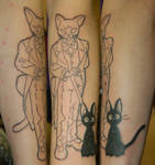 The ghibli baron tattoo