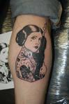 Tattooed Leia Tattoo