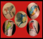 Bird tattoos I've done