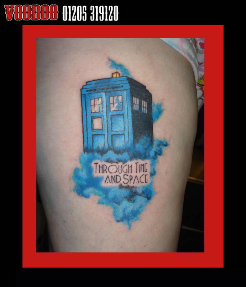tardis tattoo by yayzus