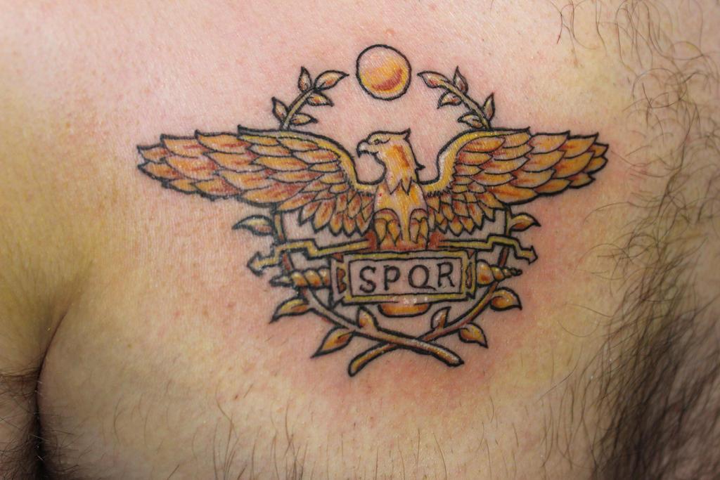 When Did The Spqr Tattoos Originate: SPQR Tattoo By Yayzus On DeviantArt