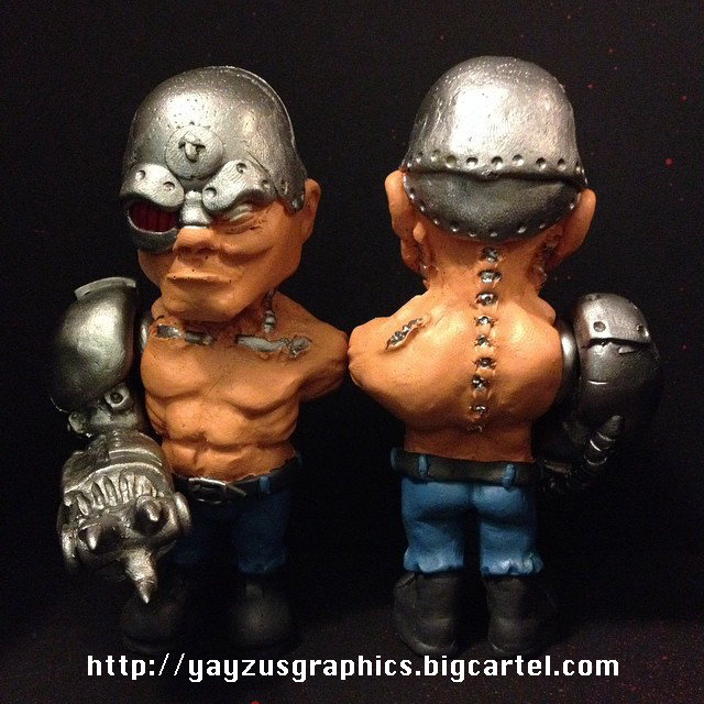 Mean Machine Angel figurine by yayzus