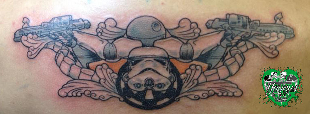 Stormtrooper Tattoo by yayzus