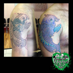 koi coverup - work in progress