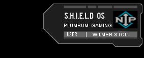 Shield Tag Blue