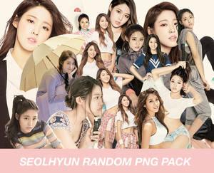 Seolhyun random png pack