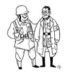 TF2- WWII Soldier and Medic