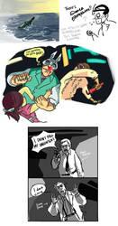 BIOSHOCK Doooodles by monkeyoo
