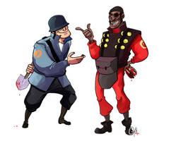 TF2-Truce? by monkeyoo
