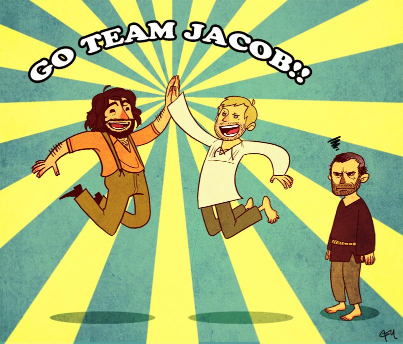 Team Jacob FTW by monkeyoo