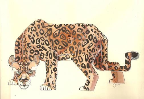Jaguar Watercolor