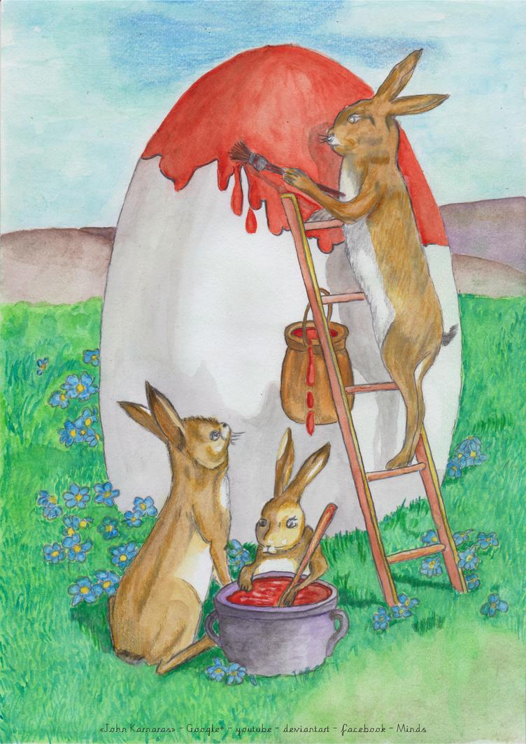 Pascha (Easter) by JohnKarnaras