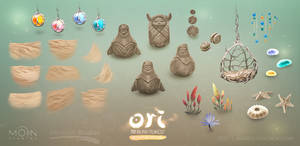 Ori and the Blind Forest DE beach assets