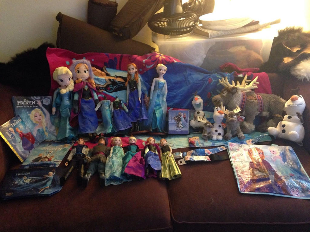 Frozen collection for sale! by ShaggyGriffon
